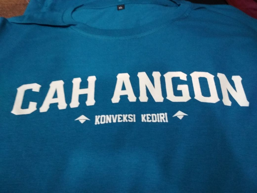 #sablonkaoskediri #sablonkaos #kaospolobordirkediri IG cahangon.cloth WA 085-6368-6563