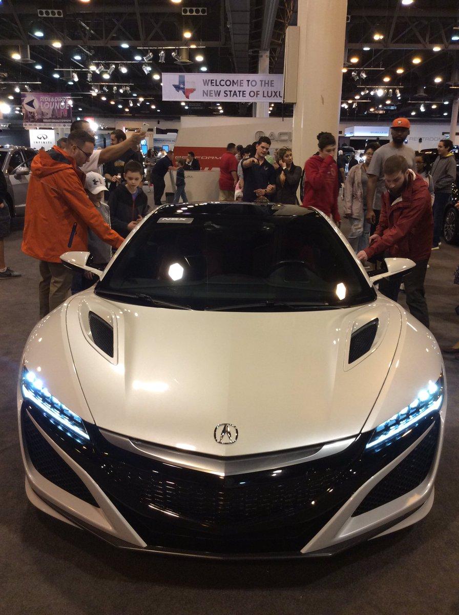 Houston Auto Show On Twitter The Acura NSX Has Horsepower - Houston car show 2018