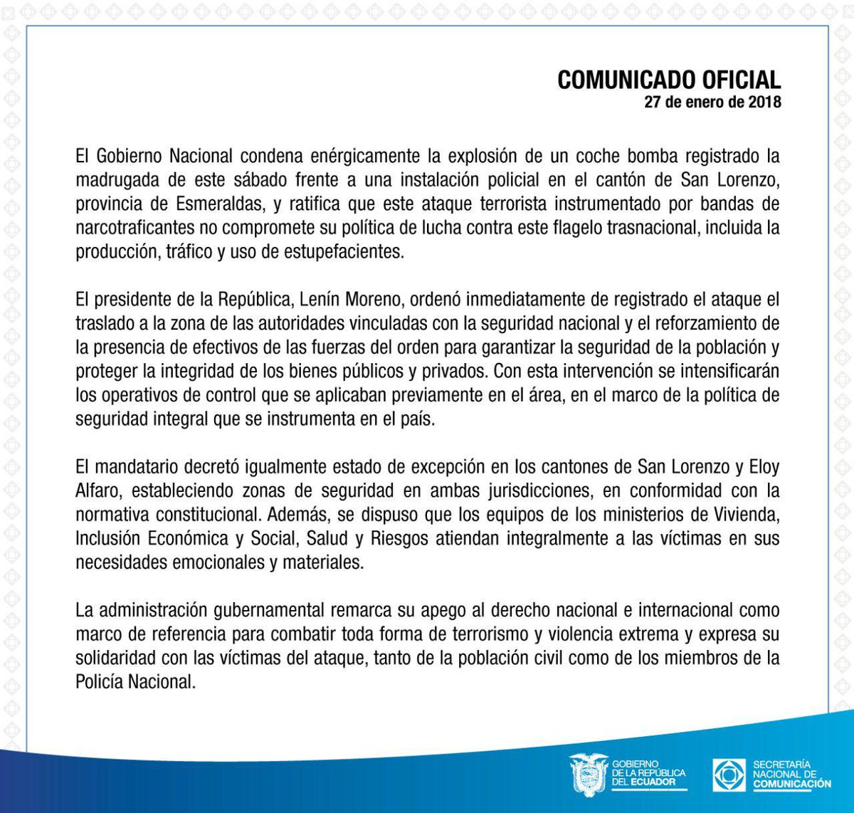 Comunicación Ecuador on Twitter: \