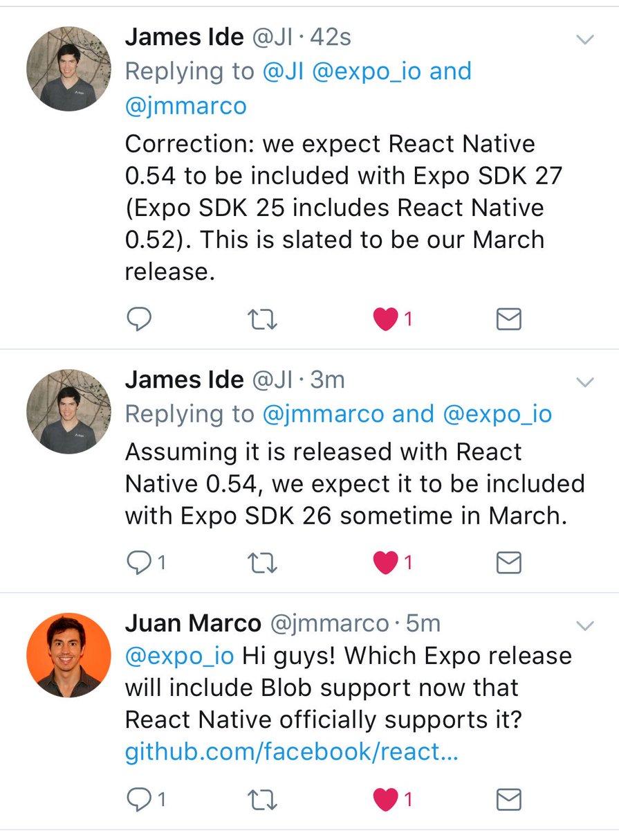 Expo on Twitter: