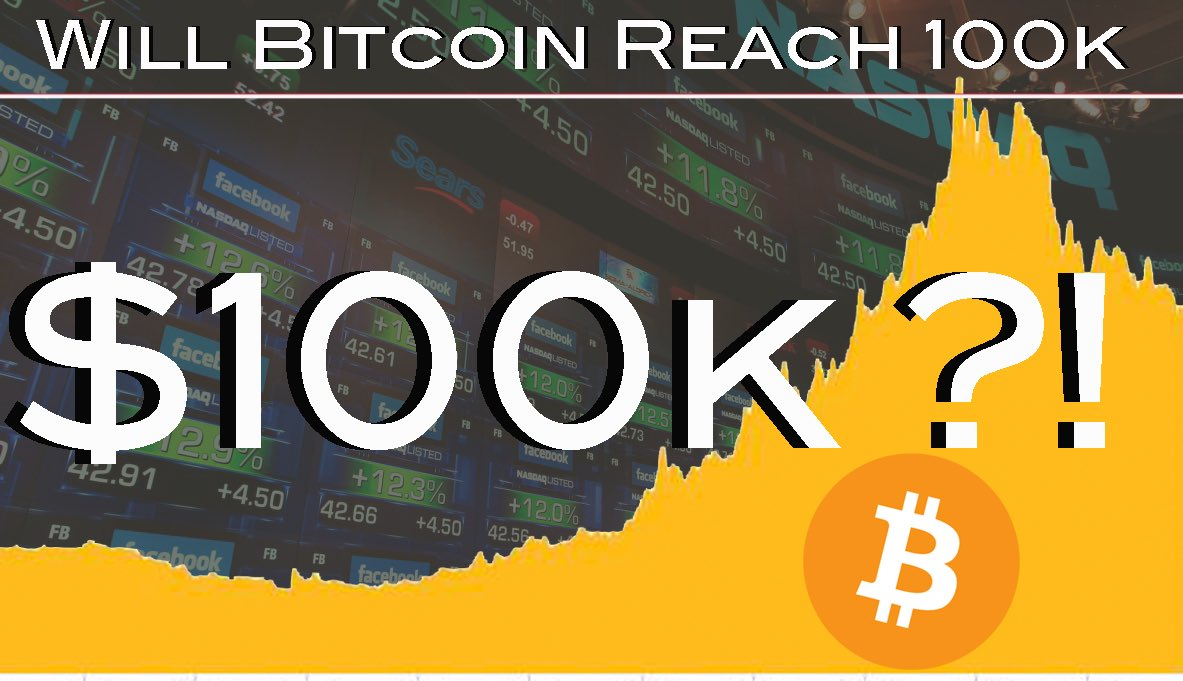 Brendon Reburn On Twitter Will Bitcoin Reach 100k In 2018 Btc -