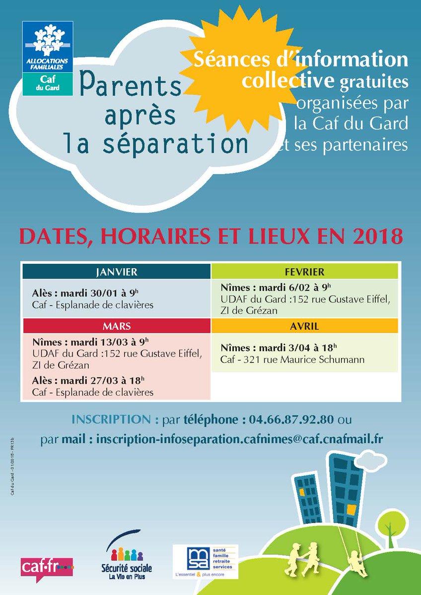 Caf Du Gard On Twitter Parents Spars Venez Une Runion D