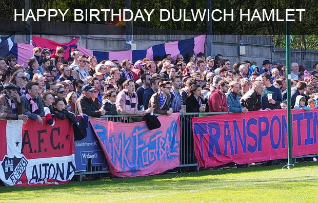 Happy birthday @DulwichHamletFC #dhfc #125