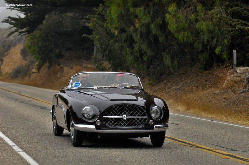 Cisitalia 808XF Concept (1952) http://oldconceptcars.com/1930-2004/cisitalia-808xf-concept/…