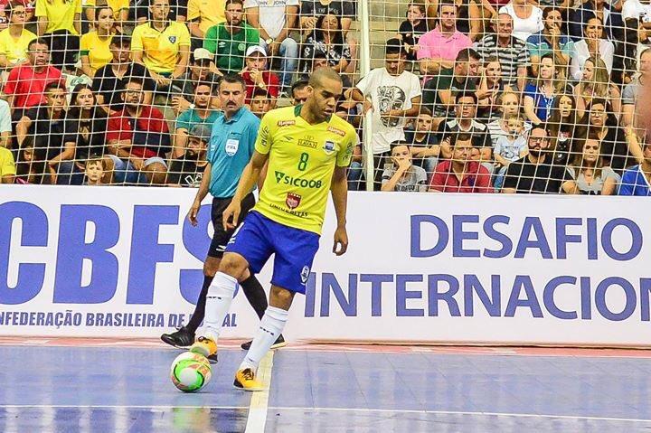 ... Ricardo Artifon-CBFS. 🆕 Ferrao marca un gol en el segon amistós  Brasil-Paraguai (8-3 a0ef3f7d9d007