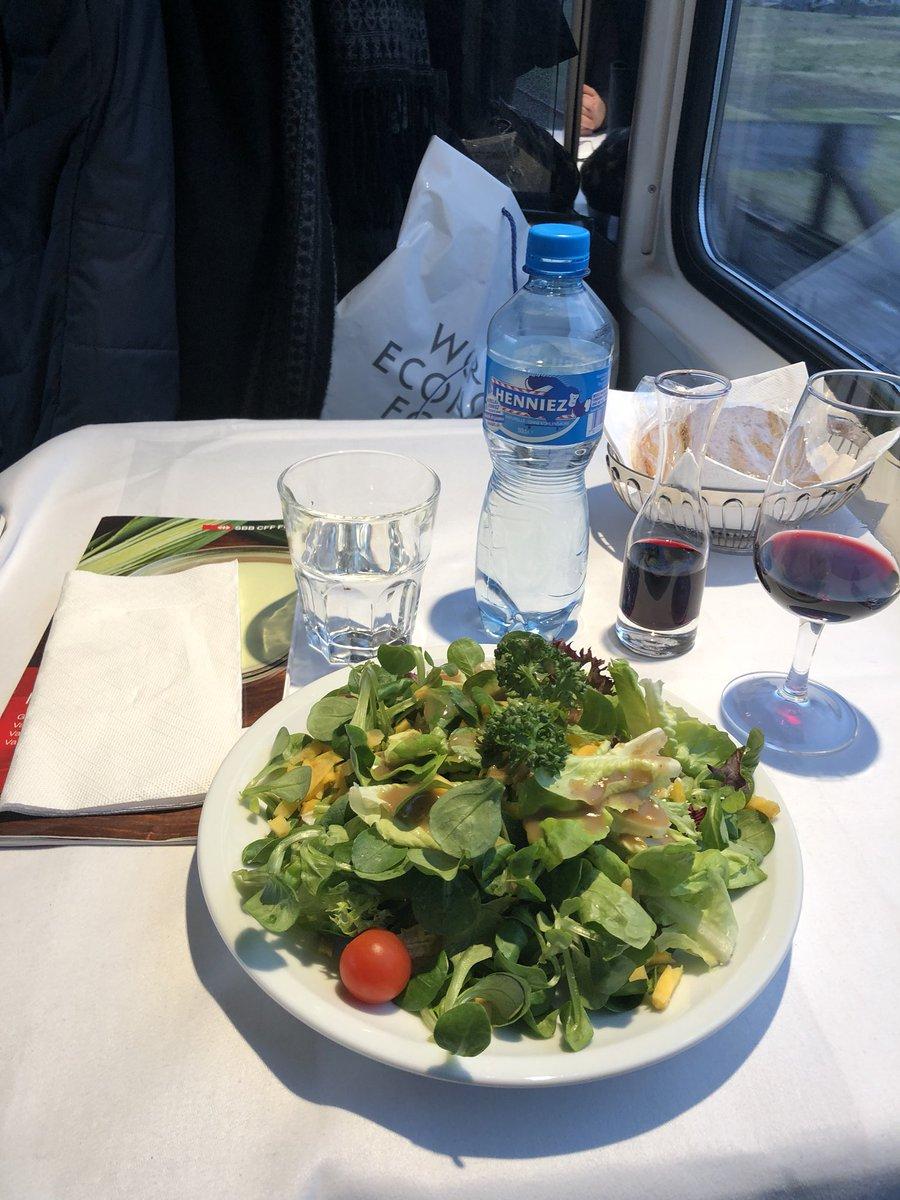 mat på tåget