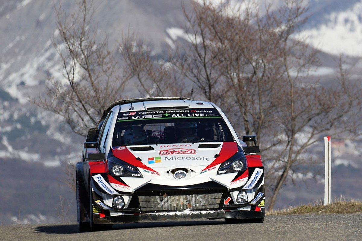 WRCモンテカルロ:トヨタが2〜3位表彰台で王座獲得へ好スタート。オジエ大会5連勝 https://t.co/3QlXn5jjGF #wrcjp #WRC #世界ラリー #Toyota #トヨタ