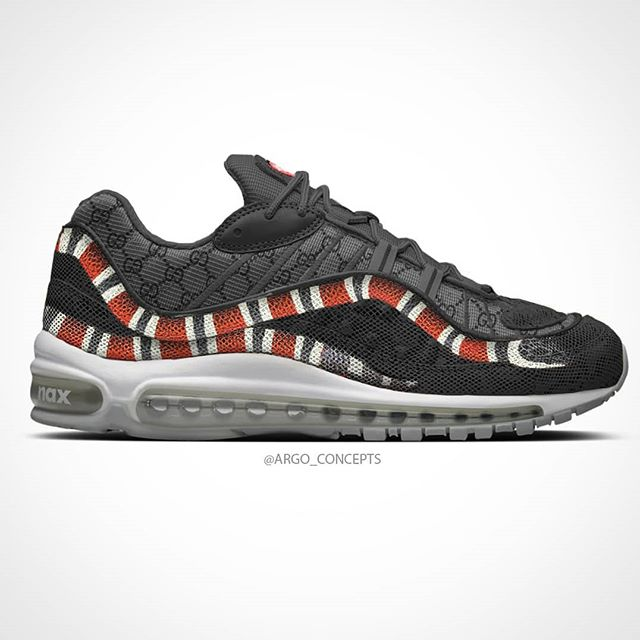 a16879aa257d0b Gucci concept for the Air Max 98 🐍 📷 by IG argo conceptspic.twitter .com vFxwipUyYD