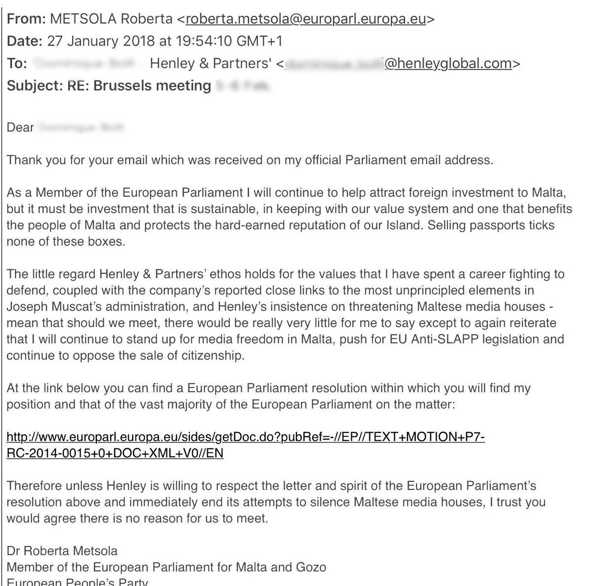 Roberta Metsola MEP on Twitter: