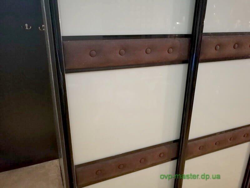 Шкаф купе с фото стеклом