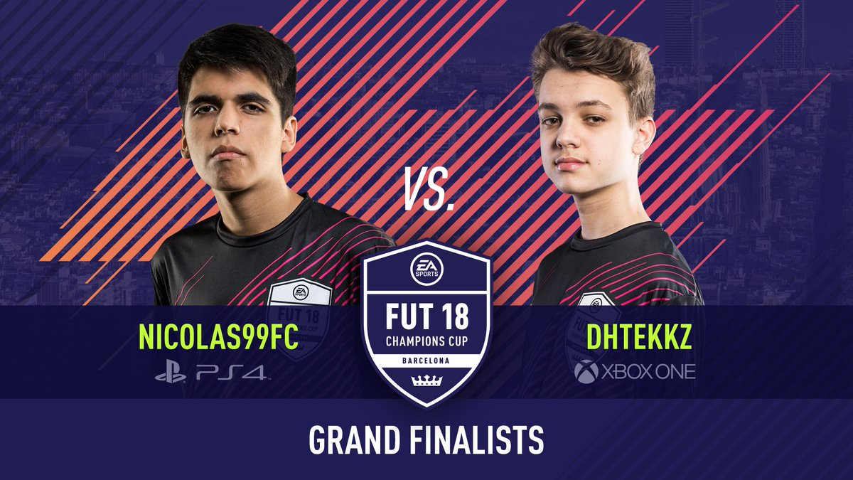 Donovan DhTekKz Hunt won the FUT Champions Cup Barcelona