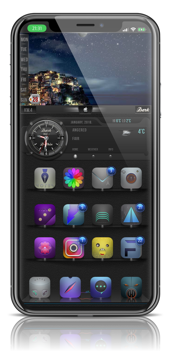 I have fixed D-Shine #UniAw fir iPhone X thanx @kupkez for your awsome SB <br>http://pic.twitter.com/ztXApHQhj5