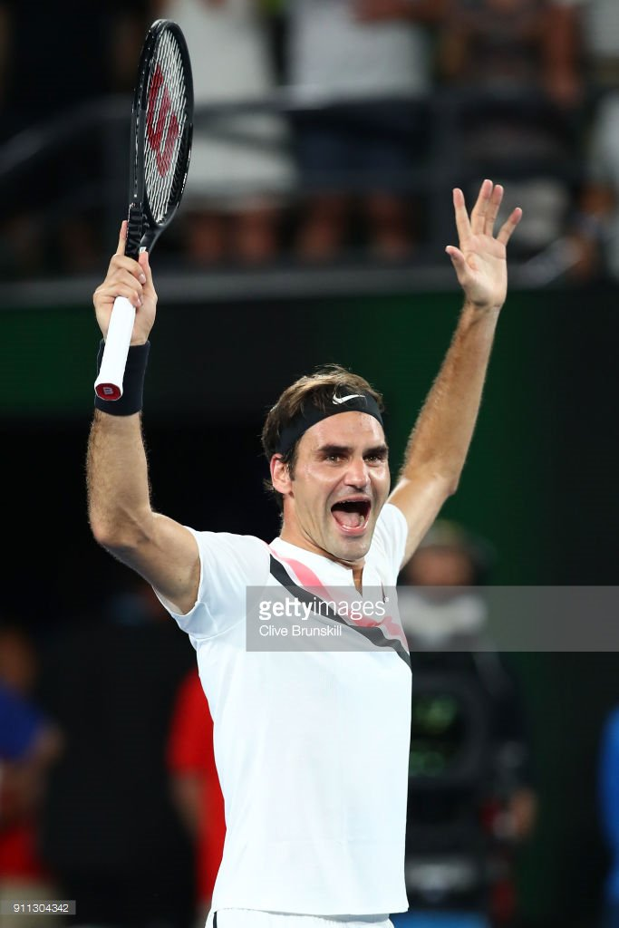 Getty Images Sport On Twitter Roger Federer Wins Sixth Ausopen And 20th Grand Slam Title