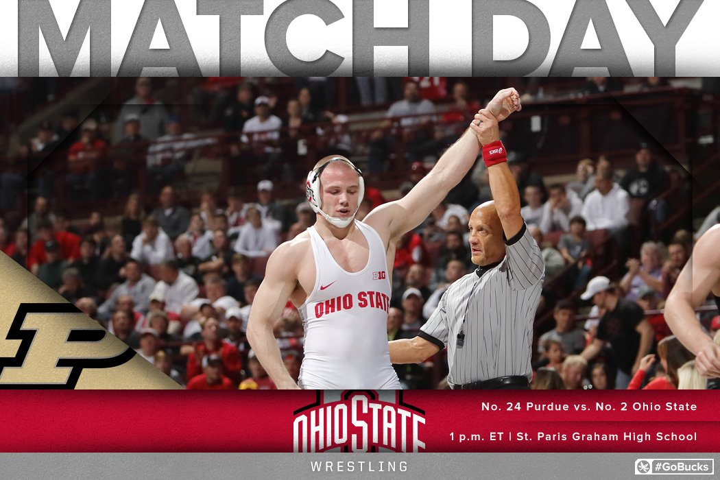 Ohio State Wrestling On Twitter Matchday No 2 Ohio State