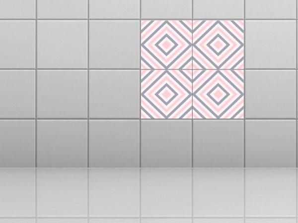 flieen folie perfect fliesenbild pink cadillac aufkleber. Black Bedroom Furniture Sets. Home Design Ideas