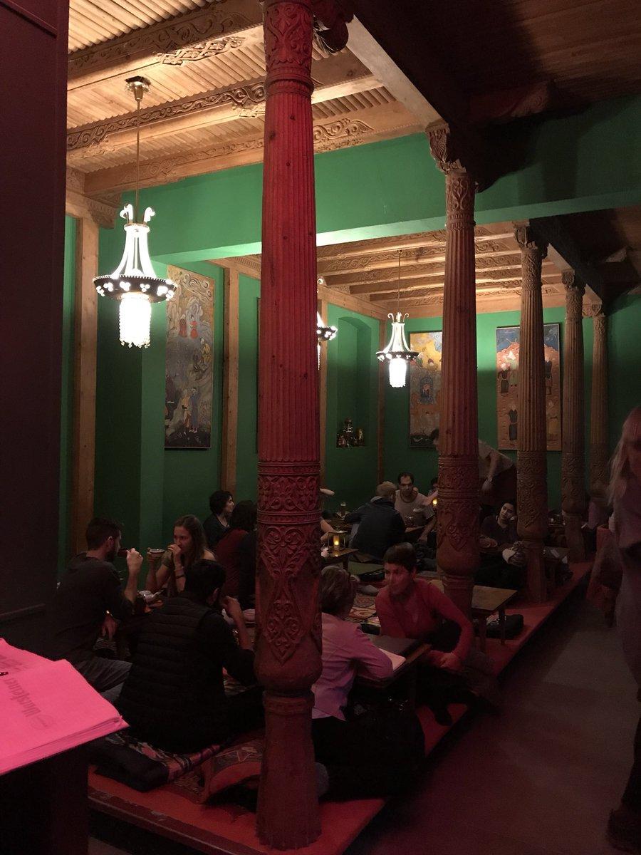 Tajik Tea House Designs on