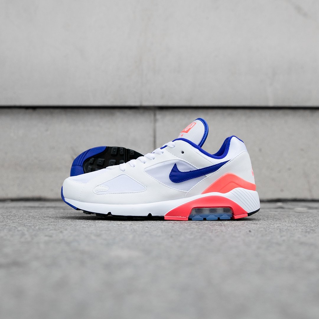 e167c03d55c The Air Max 180 returns for 2018 in an instantly recognizable OG  Ultramarine colourway