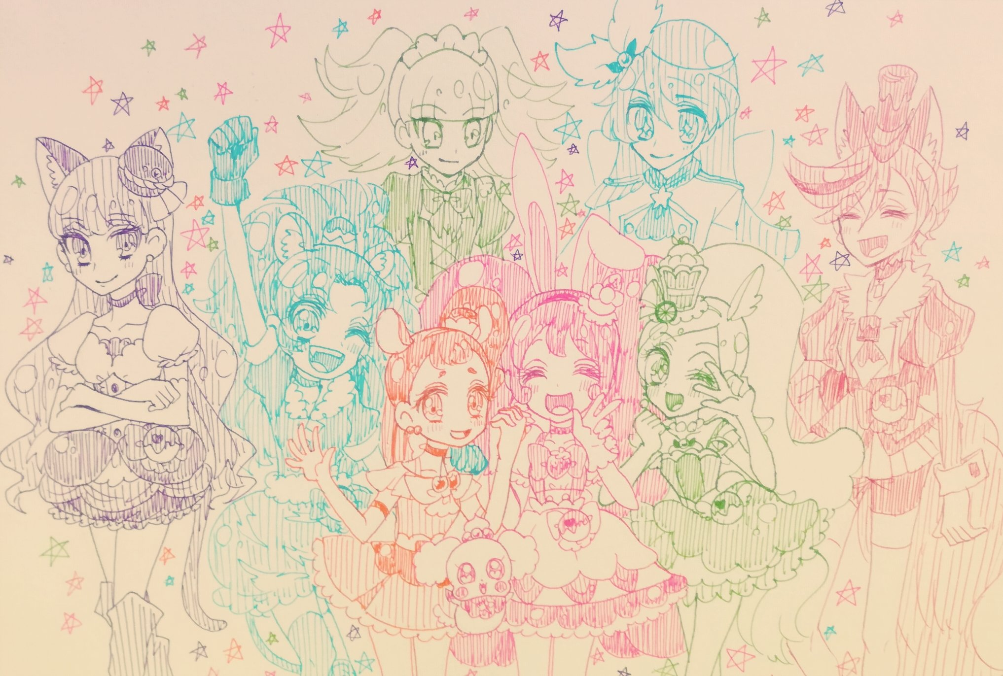 Pastel (@cuuute_things)さんのイラスト