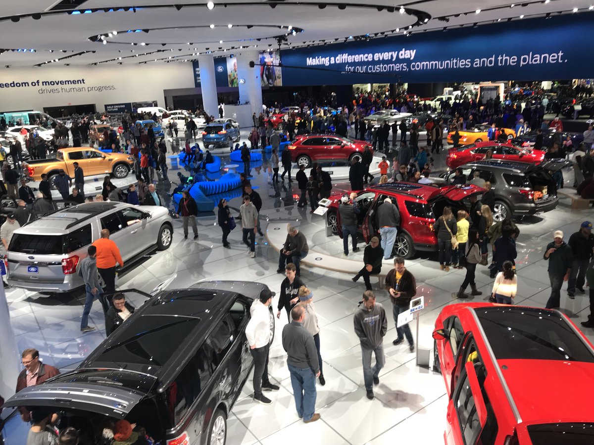 January 14-27, 2019 - North American International Auto Show