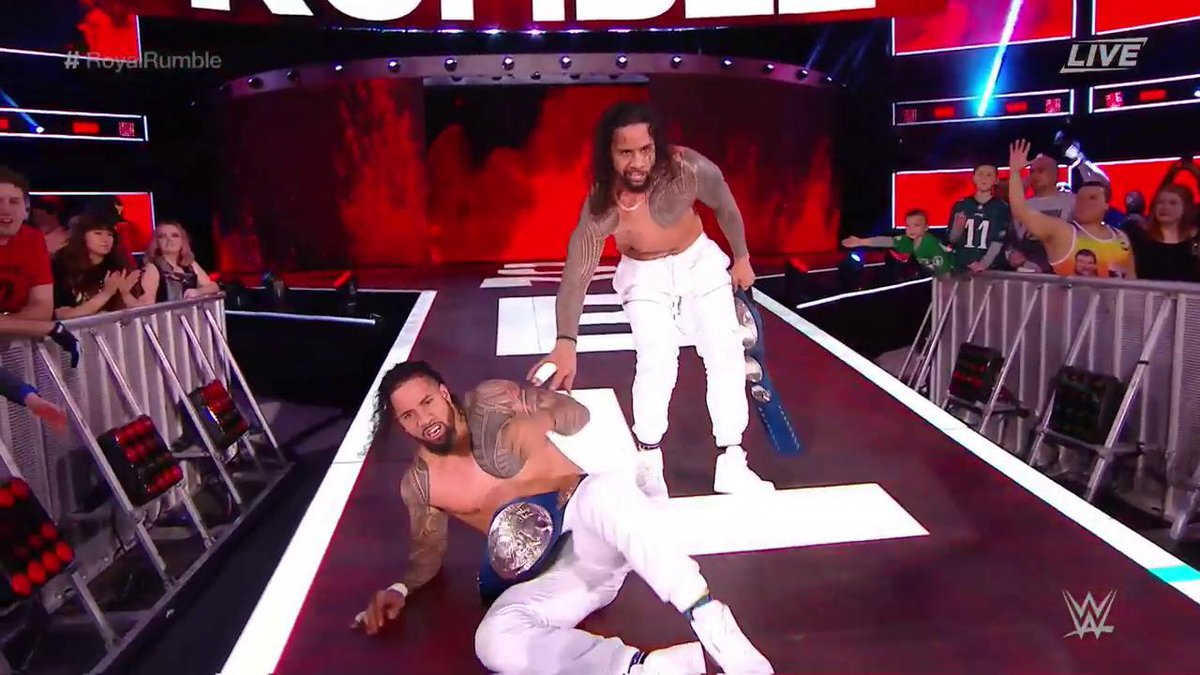 wwe royal rumble 2018 - DUq1T2rVAAAcjbz - WWE Royal Rumble 2018 Results & Winner Name With Photos