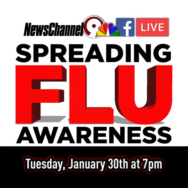 Join us on Facebook Live Tuesday evening...