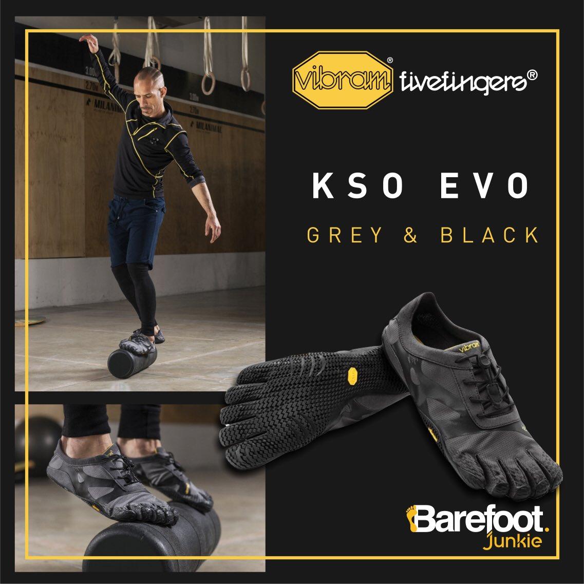 3acc52b577d0  VibramFivefingers KSO EVO Grey   Black from Barefoot Junkie https   www.