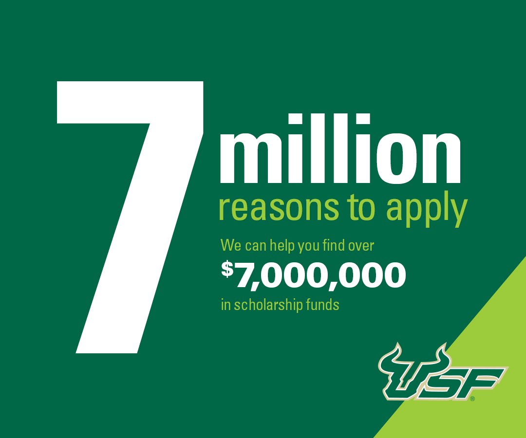 Usf On Twitter Usf Offers Many Scholarships That Help With