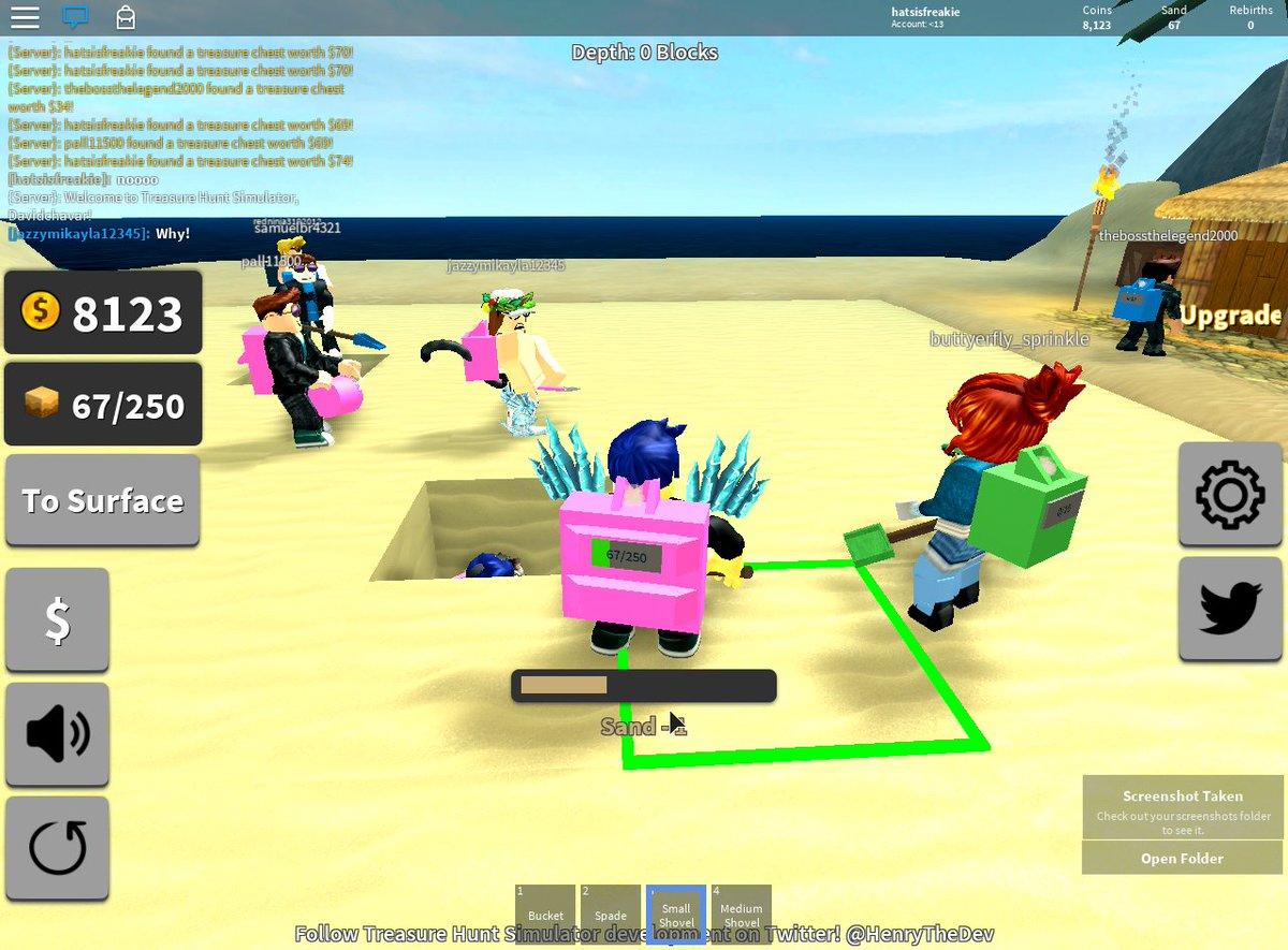 Codigo Para Treasure Hunt Simulator Roblox