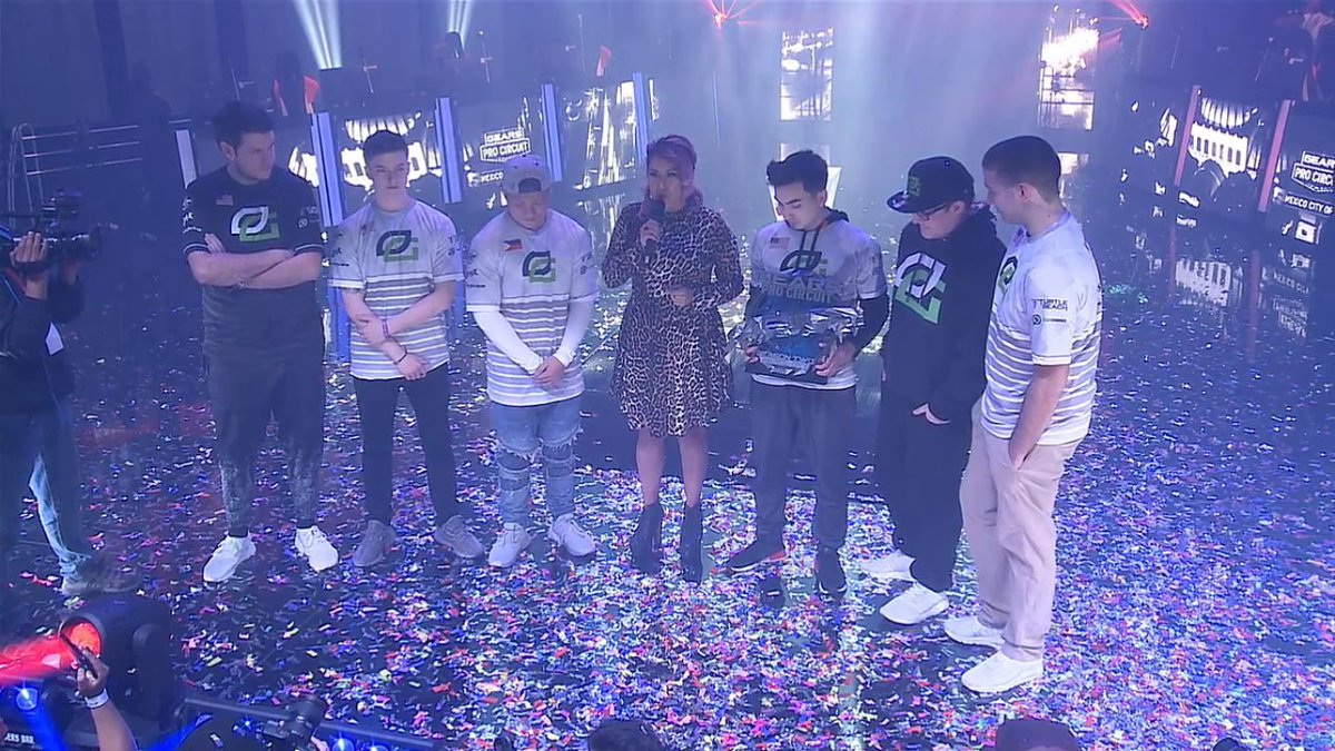 Congrats to @OpTicGaming for winning #GearsMX! #GreenWall  ⌨️ Discuss: https://t.co/QLcCQy6Gto