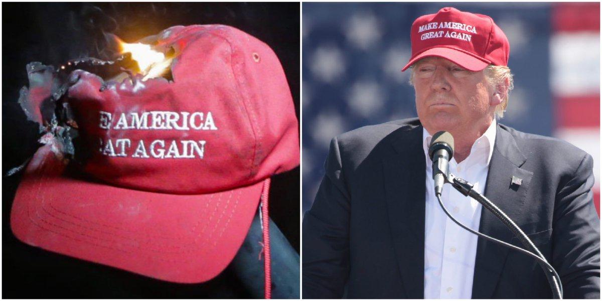 The vile, vomitous, virulent vestige of Trump's Nazi-Campaign - #MAGA!