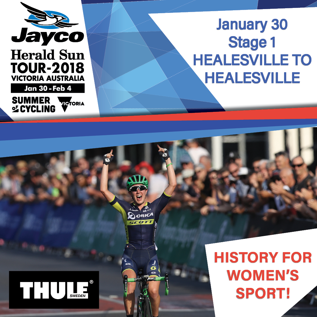The Aussie Summer of Cycling continues tomorrow with the history-making  Women s Herald Sun Tour. Check out the epic first stage  ... fe1da0eec