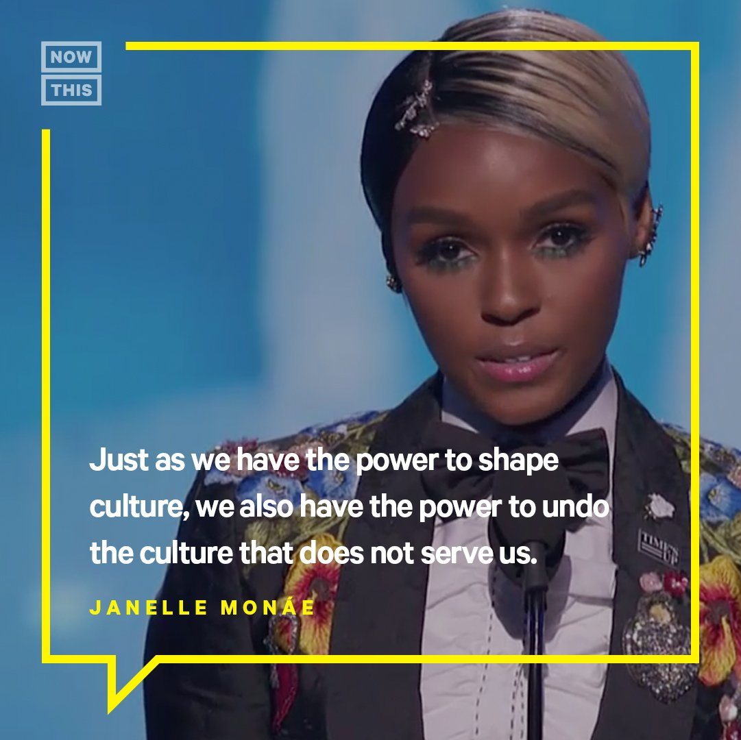 Janelle Monáe's incredible #TimesUp speech was undoubtedly one of the best parts of the #Grammys