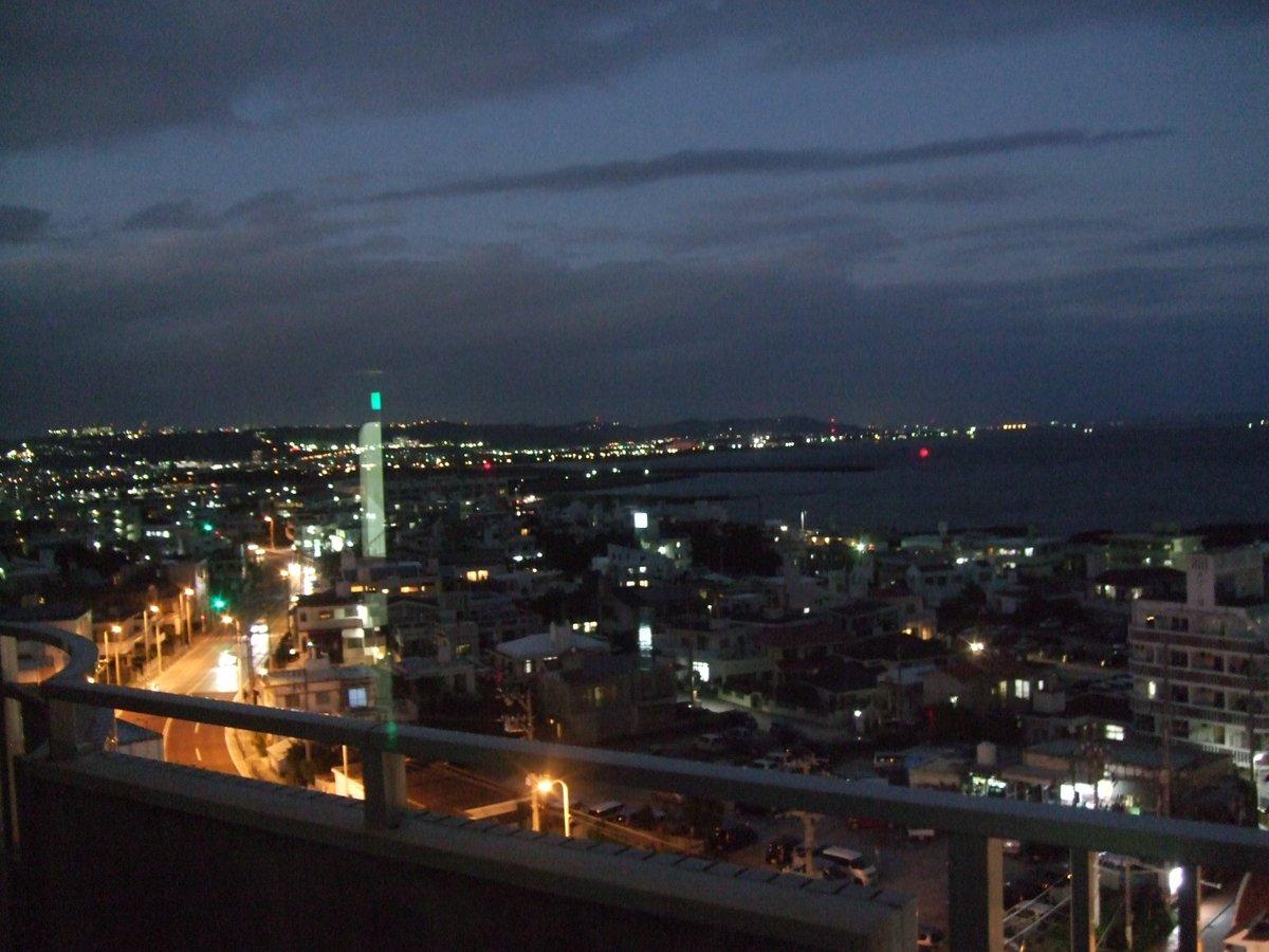 沖リハから見える夜景~★