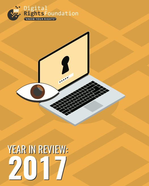 .@DigitalRightsPK launches their Year in Review 2017 report that will give a detailed overview on how had the past year been at DRF and what all kept the team busy. Access the report here: https://digitalrightsfoundation.pk/wp-content/uploads/2018/01/Year-in-Review-2017.pdf…