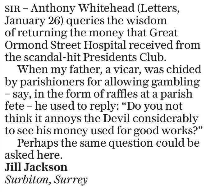 Telegraph Letters (@LettersDesk) | Twitter