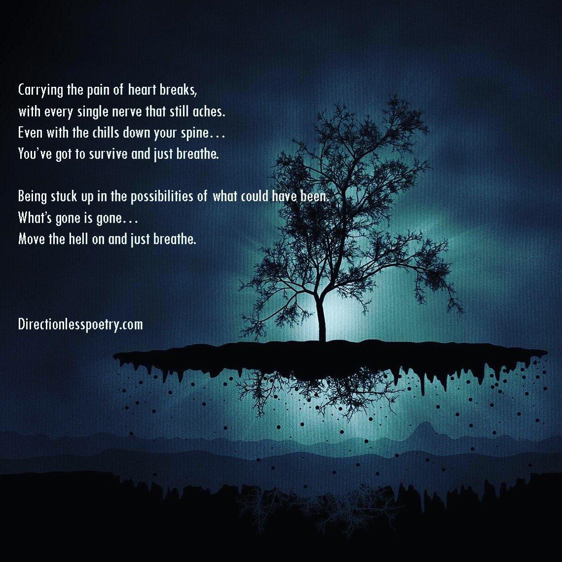 Just Breathe Poem