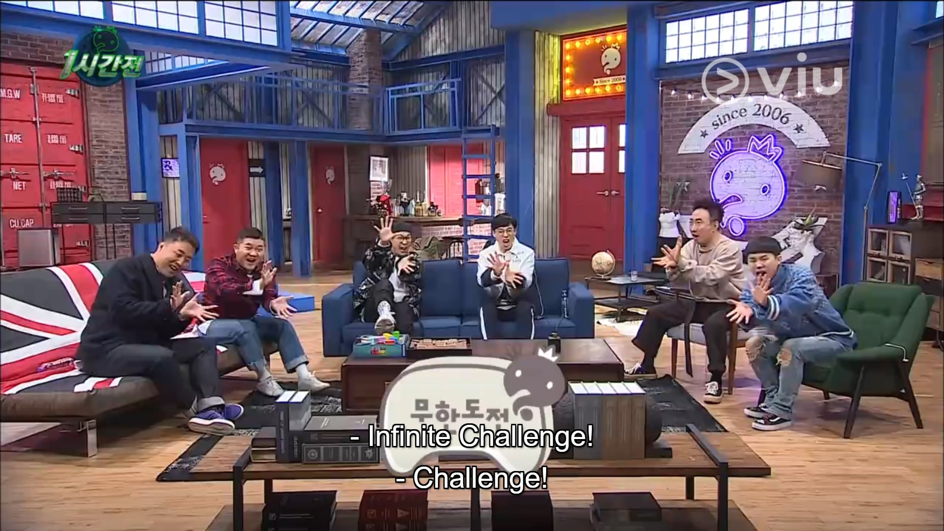 Image result for infinite challenge viu site:twitter.com