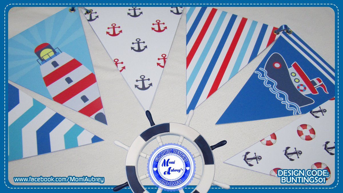 Momi Aubrey On Twitter Nautical Theme Party Banner