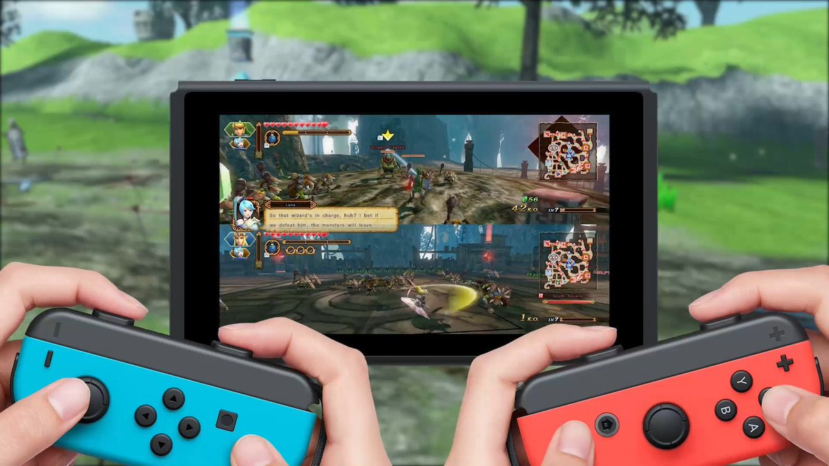 Nintendo Au Nz On Twitter You Can Play Hyrulewarriors Definitive Edition For Nintendoswitch Anytime Anywhere And With Anyone In Local 2 Player Co Op Mode By Sharing Joy Con Controllers Available This Autumn Https T Co 8za0gfroqe