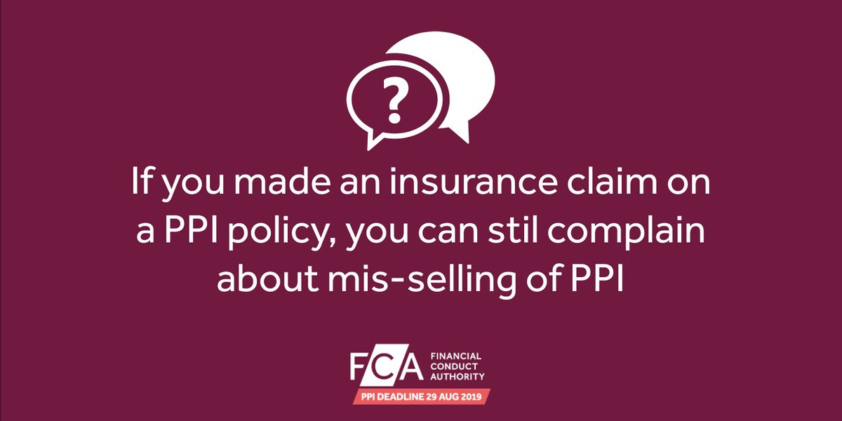 The fca ppi deadline ppifca twitter you may still have been mis sold ppi and could be eligible to receive money back find out more here httpsgoofkhkra picitterz5gzlprfwc solutioingenieria Choice Image