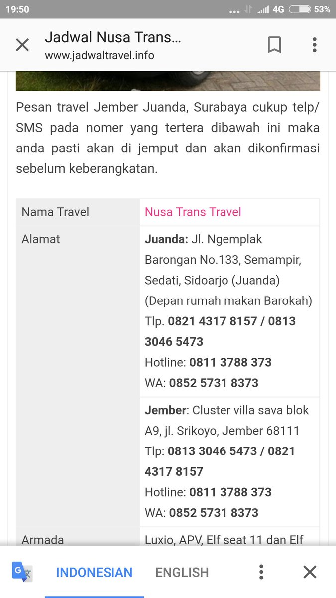 Nusatranstravel Hashtag On Twitter Travel Jember Juanda