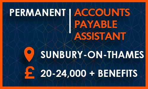 *NEW ROLE* - Accounts Payable Assistant, £20-24,000 - Sunbury-on-Thames. Apply here: https://www.pytec.co.uk/jobs/accounts-payable-assistant …