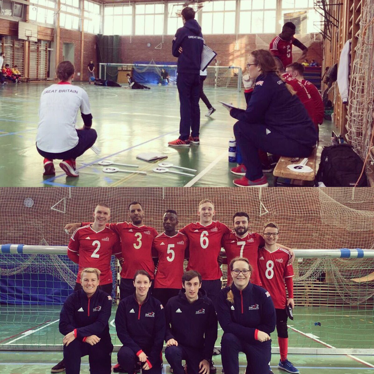 Image result for faye dale goalball