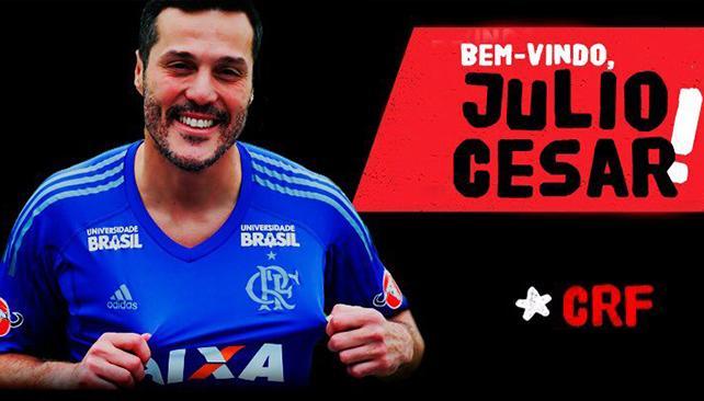 Julio César reforzará la portería de Flamengo