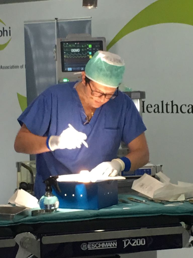 Rbhh Specialist Care On Twitter Live Surgical Demonstration