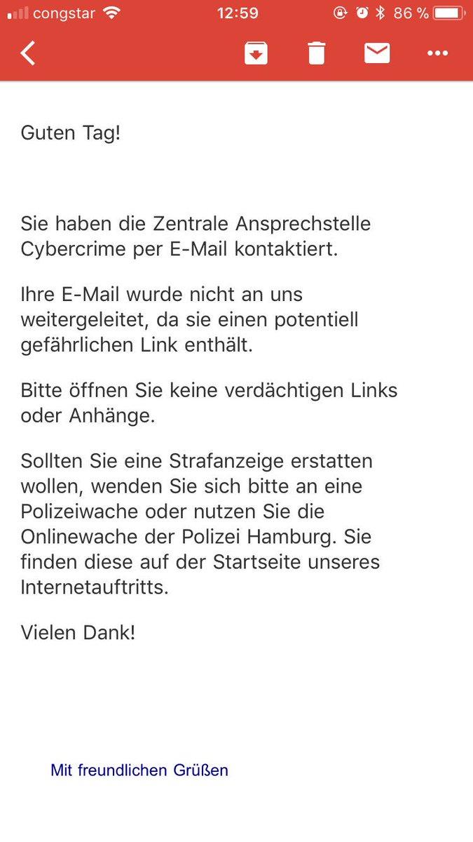 Polizei Hamburg On Twitter Melden Sie Sich Gern Telefonisch Direkt