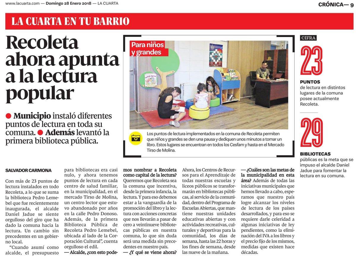 Municipio Recoleta on Twitter: \