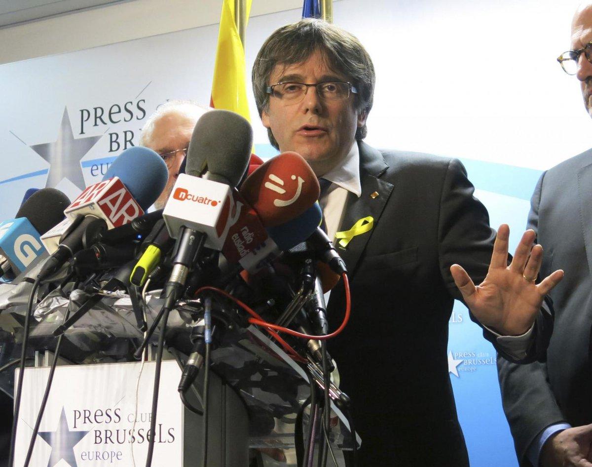 NEWS/ #Catalogna #Puigdemont chiede immunità per investitura.