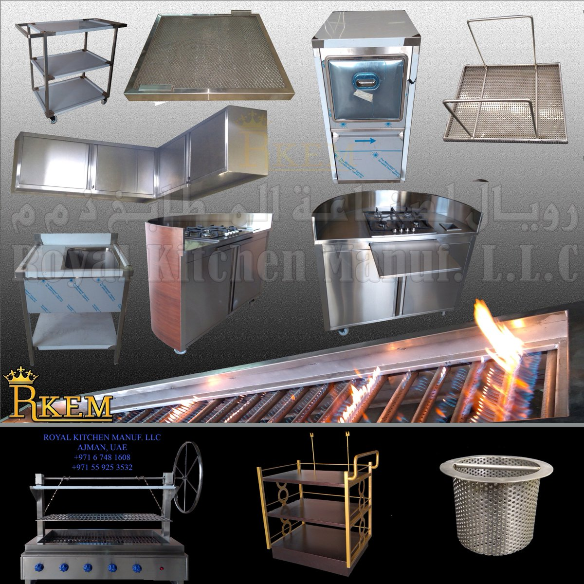 Welcome To Our World Of Customized Kitchen Equipment. Royal Kitchen  Equipment Manufacturing LLC Are Specialized Manufactures And Exporters Of  Commercial, ...