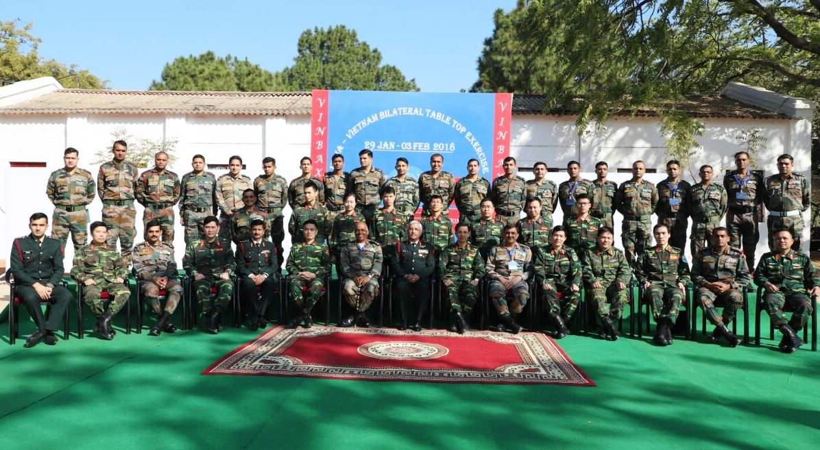 Hindi Current Affairs,Hindi Current Affairs 30th January 2018,Current Affairs 30th January 2018 Image result for VINBAX: India and Vietnam hold first military exercise in Jabalpur